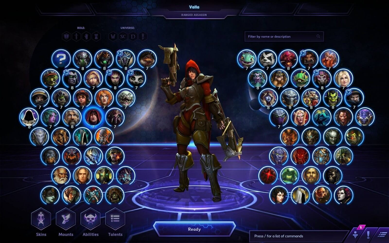 Heroes of the Storm เกม