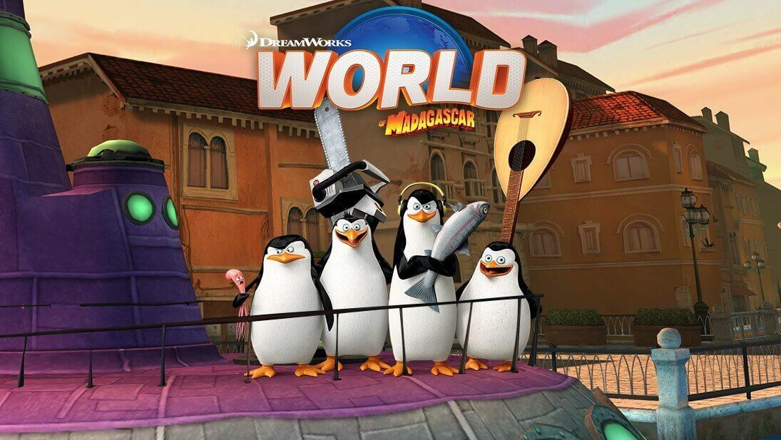 World of Madagascar เกม